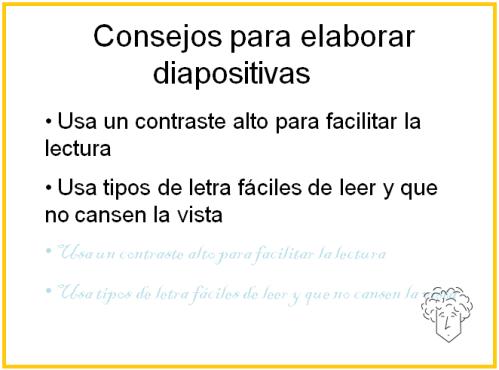 Diapositiva contraste